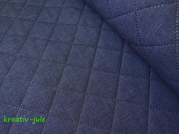 REST Taschenstoff Farbenmix Stepper Moskau blau
