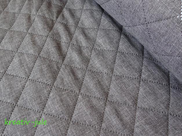 Taschenstoff Farbenmix Stepper Moskau hellgrau - 1