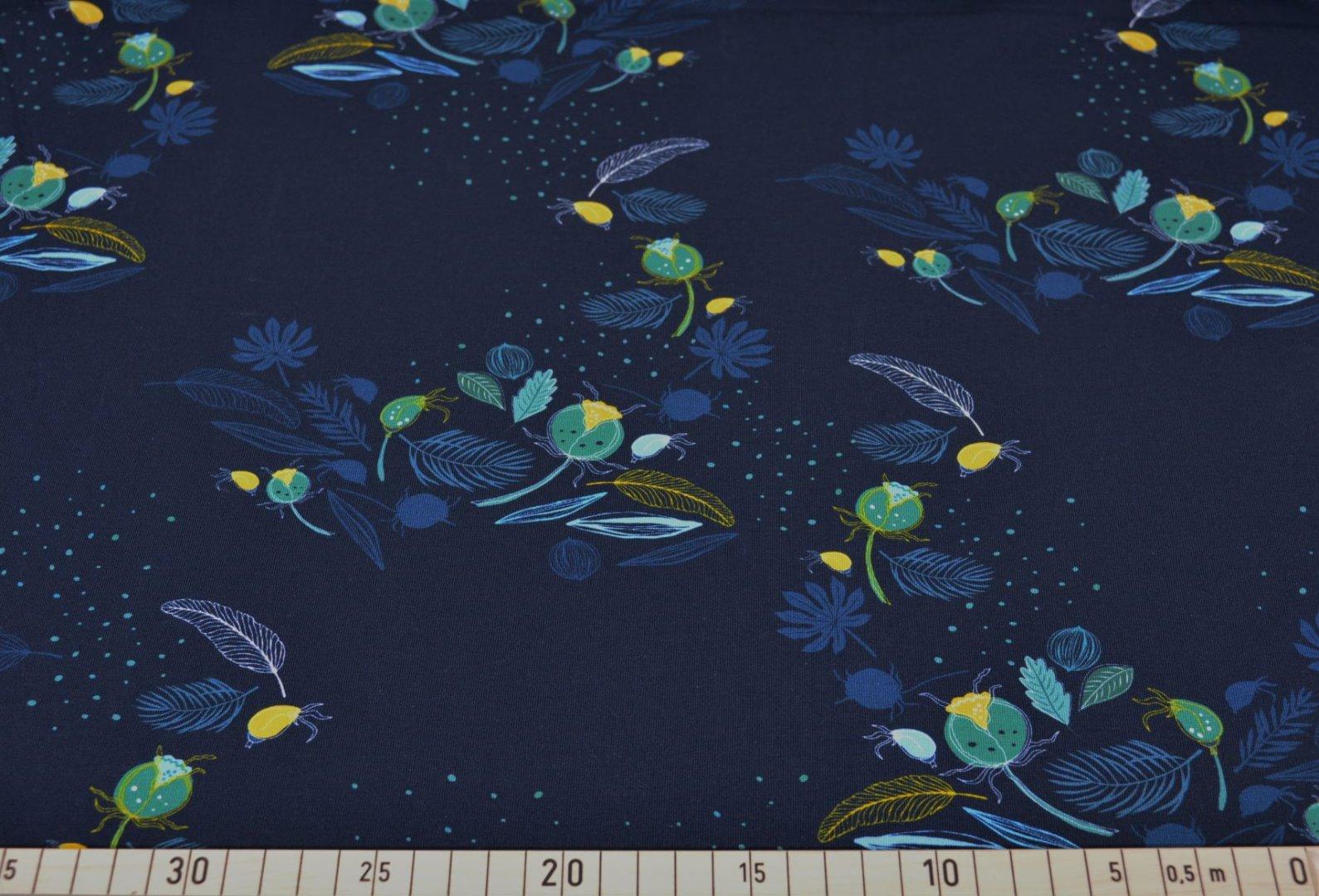 Jersey Blaubeerstern Dark night nachtblau blau - 1