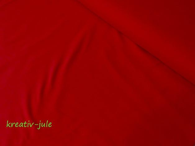 Baumwolle Fahnentuch rot Uni - 1