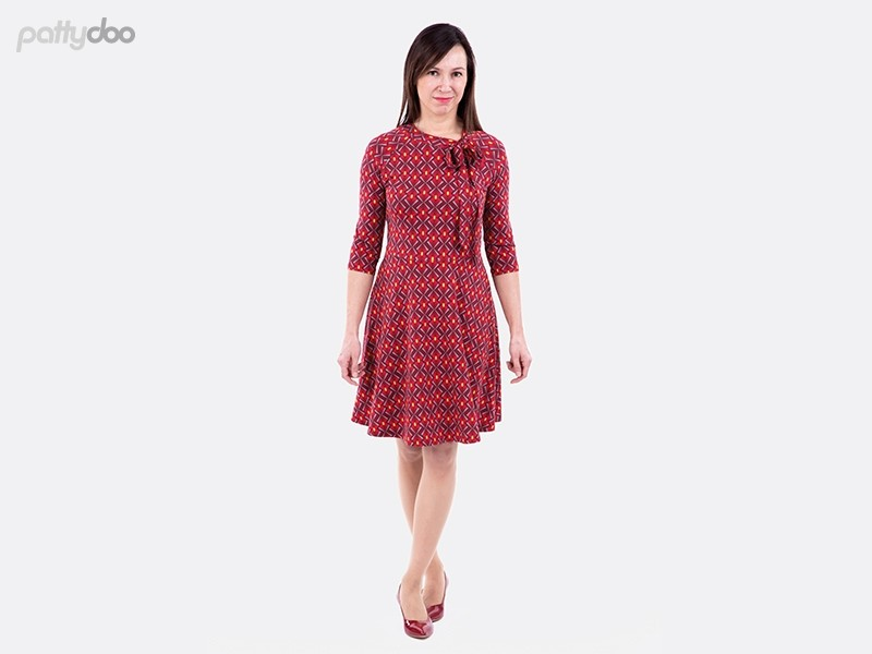 Schnittmuster Mellie Raglanshirt Kleid pattydoo 2