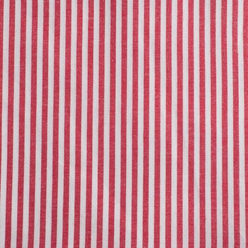 Streifen Baumwolle rot weiß - 1