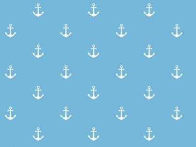 Musselin Double Gauze jeansblau Anker weiß