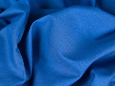 Baumwolle Fahnentuch royalblau blau Uni