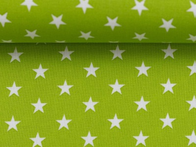 Sterne rot weiß Baumwollstoff Sterne Carrie