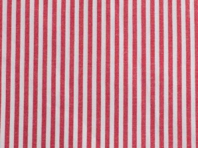 Streifen Baumwolle rot weiß - Baumwollstreifen