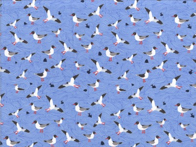 Jersey Seagull Wave by Lila Lotta
