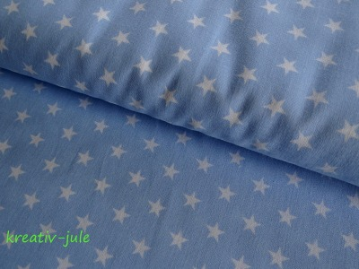 Sterne weiß hellblau
