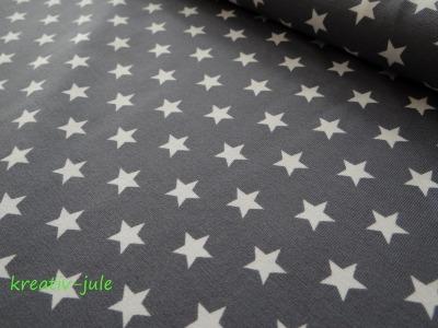 Jerseystars Sterne Jersey grau weiß