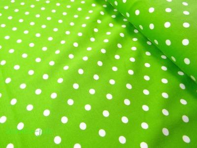 Jersey Punkte Dots Tupfen grün, kiwi, hellgrün