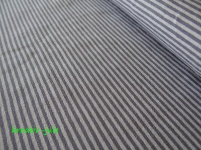 Streifenjersey grau dunkelgrau Ringeljersey