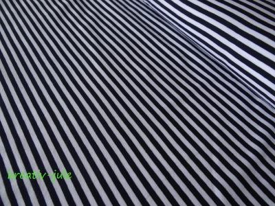 Streifenjersey blau marine weiß Ringeljersey
