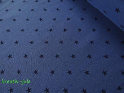 Bündchen Sterne blau marine