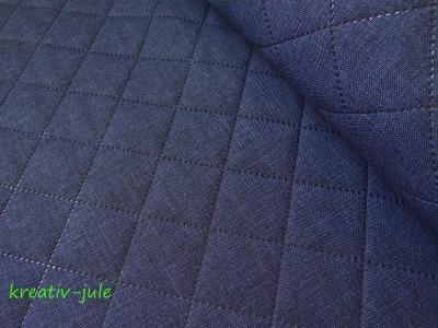 Taschenstoff Farbenmix Stepper Moskau blau