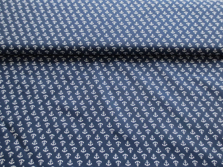 Anker Stoff - 100 Baumwolle -