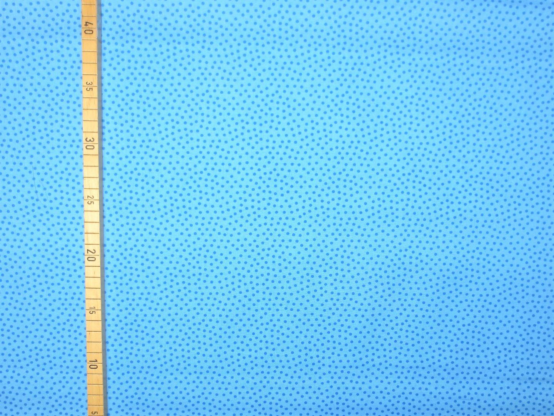 Baumwollstoff Pünktchen EUR/m blau Westfalenstoffe 100