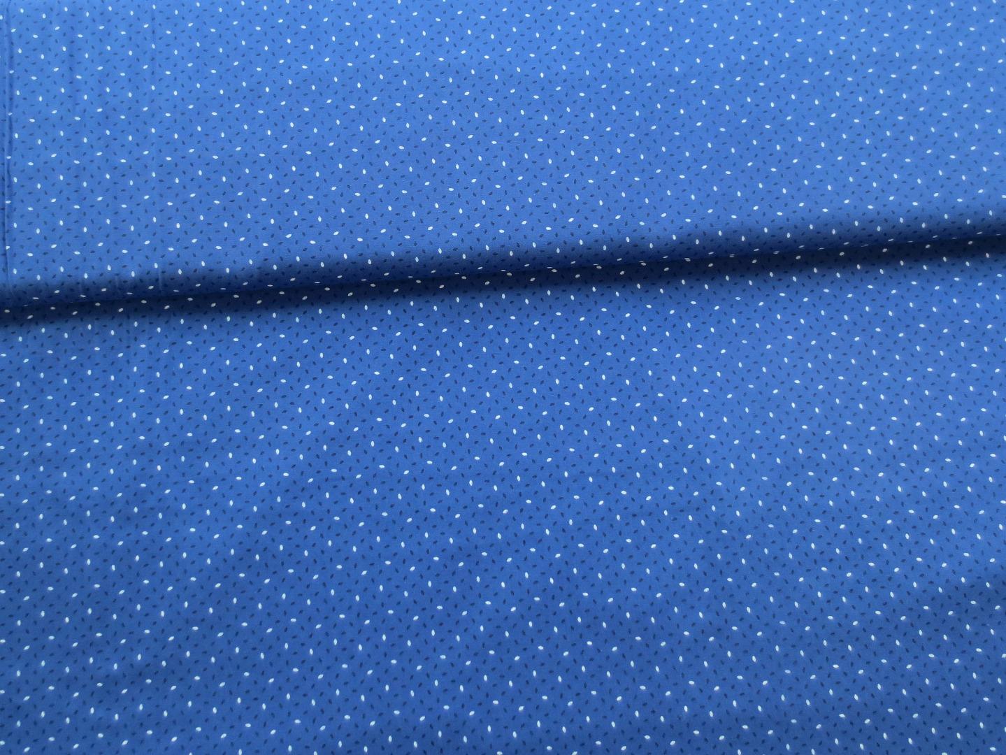 Baumwollstoff - blau - 100 Baumwolle