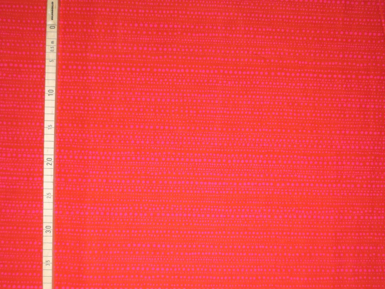 Baumwollstoff Punkte EUR/m rosa Punkte auf