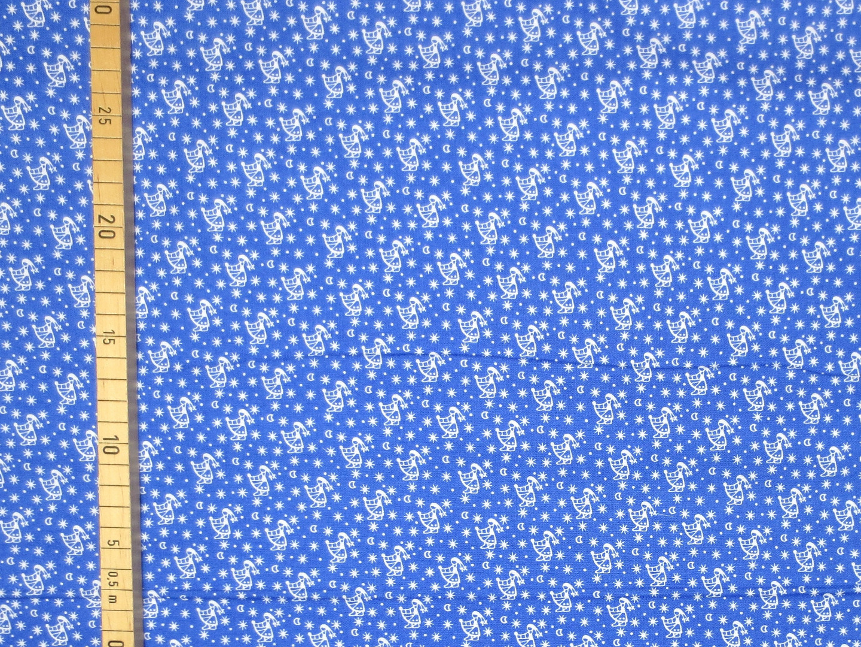 Baumwollstoff Sterntaler blau Westfalenstoffe 100 Baumwolle