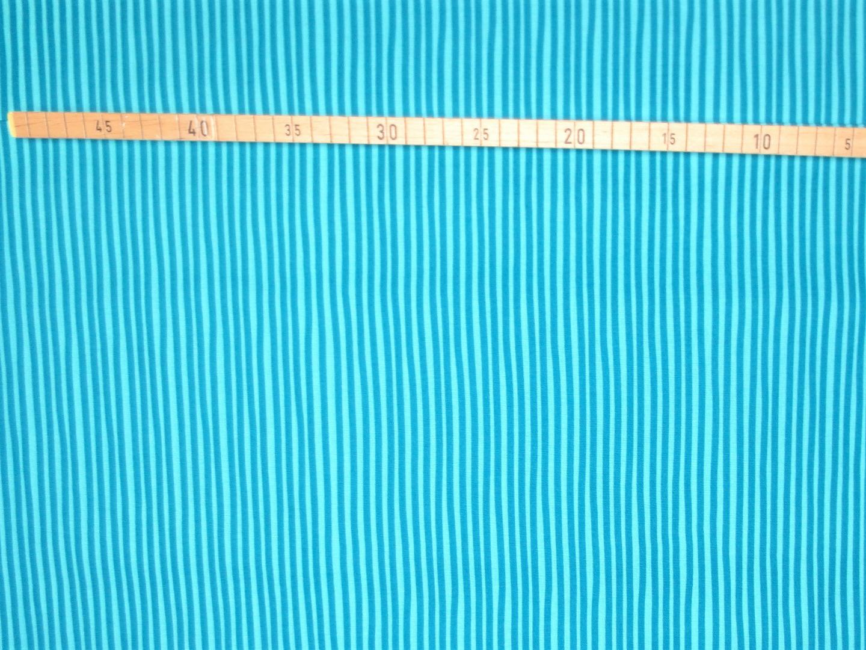 Baumwollstoff Streifen türkis Westfalenstoffe 100 Baumwolle