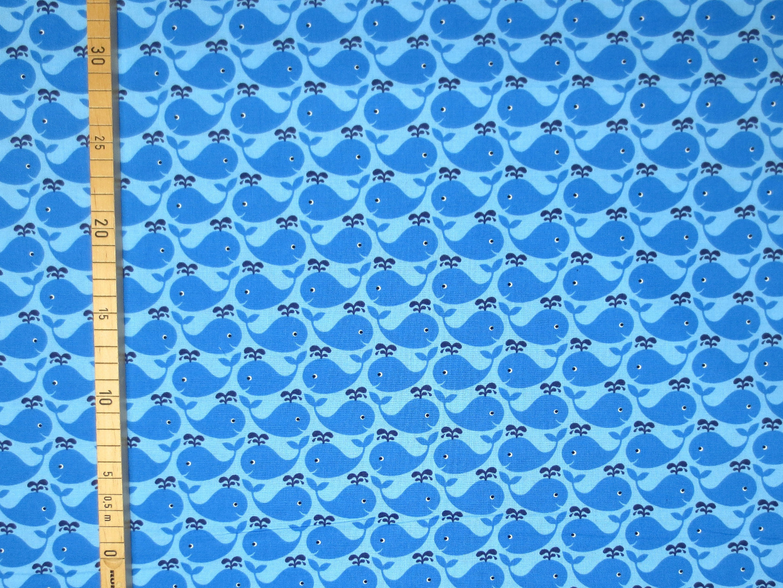 Baumwollstoff Wale blau Westfalenstoffe 100 Baumwolle