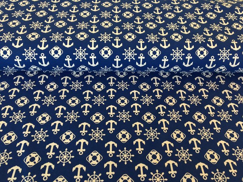 Jersey Anker blau 2