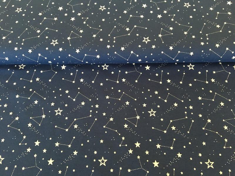 Jersey Sternbilder blau 2