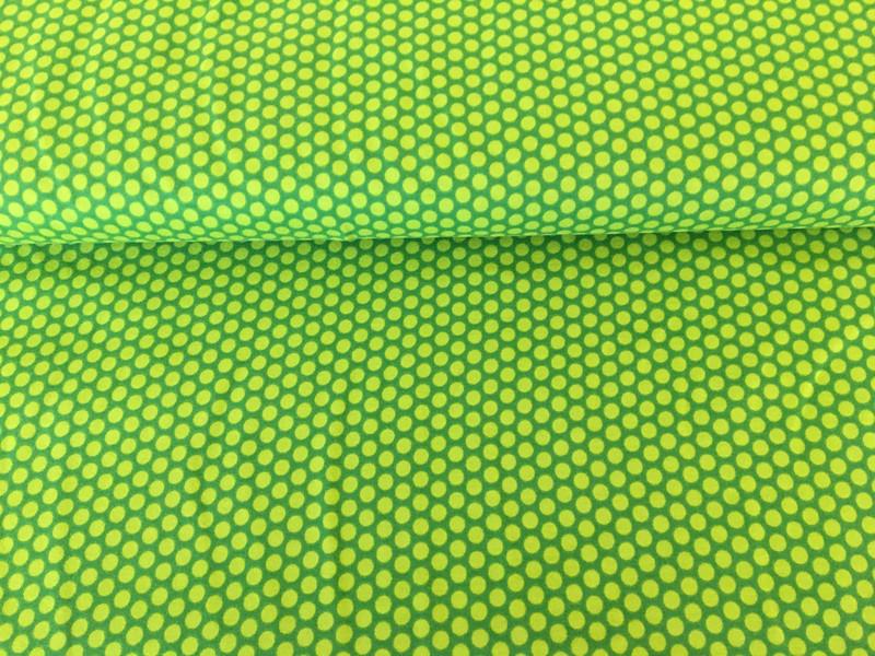 Jersey Punkte dunkelgrün 2