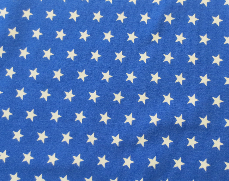 Jersey Sterne blau/weiß
