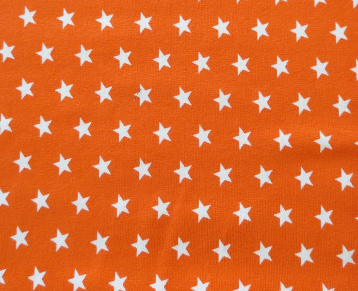 Jersey Sterne orange/weiß
