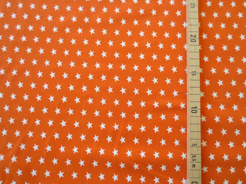 Jersey Sterne orange/weiß 2