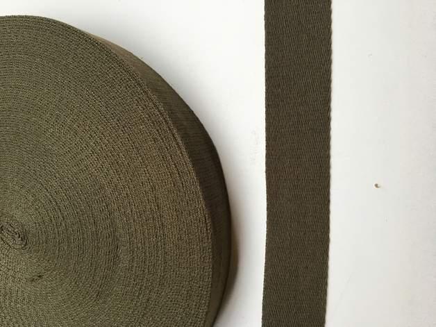 Gurtband - 40 mm - oliv