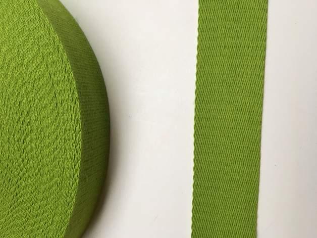 Gurtband - 40 mm - hellgrün