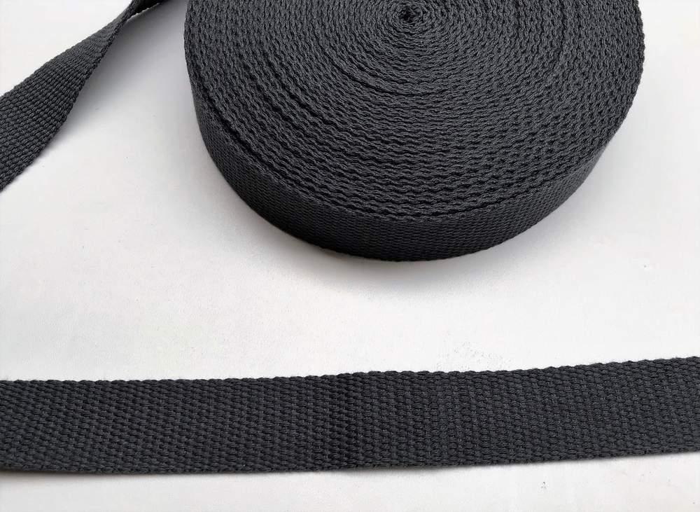 Gurtband - 30 mm - schwarz