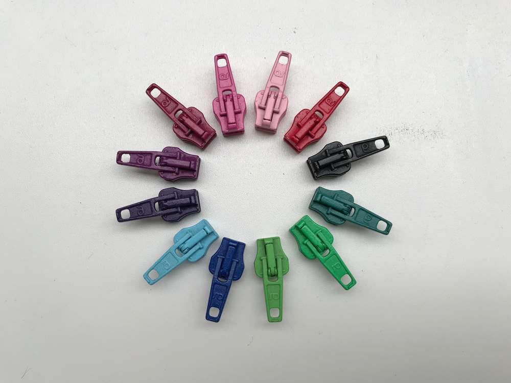 EP apfelgrün/rosa Endlos-Reißverschluss 20 cm 3