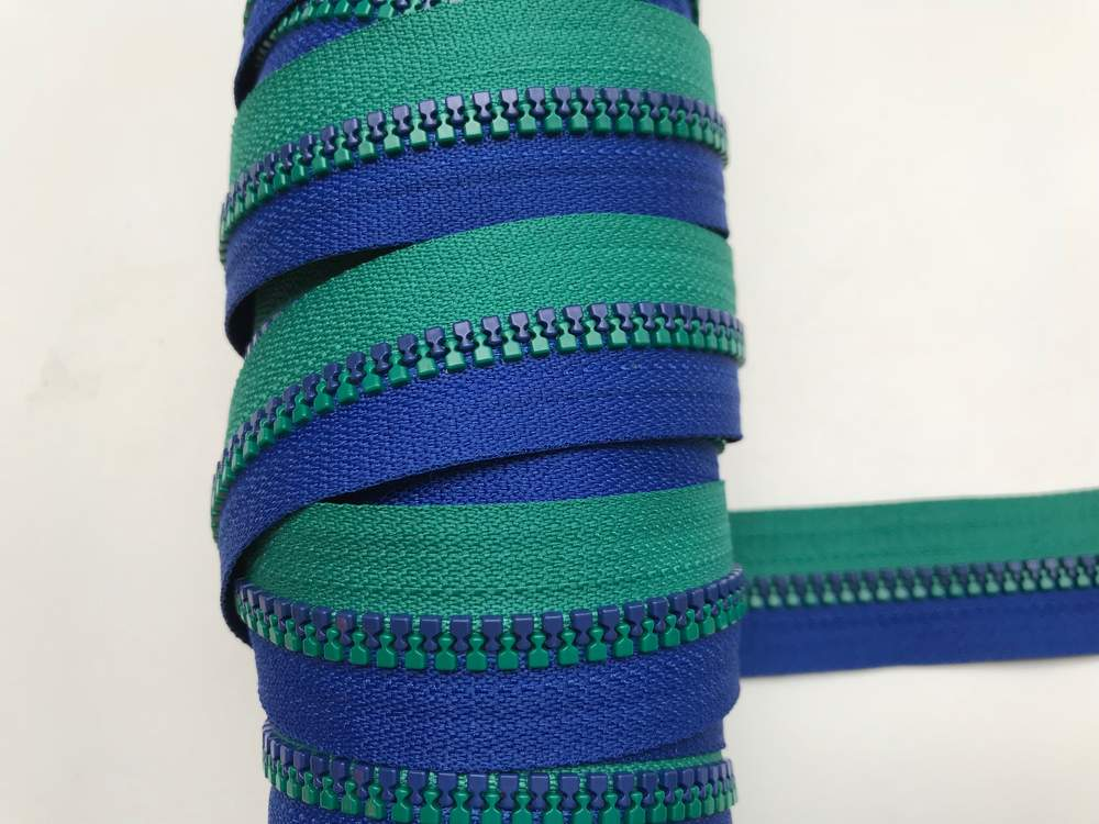 EP blau/grün Endlos-Reißverschluss 20 cm