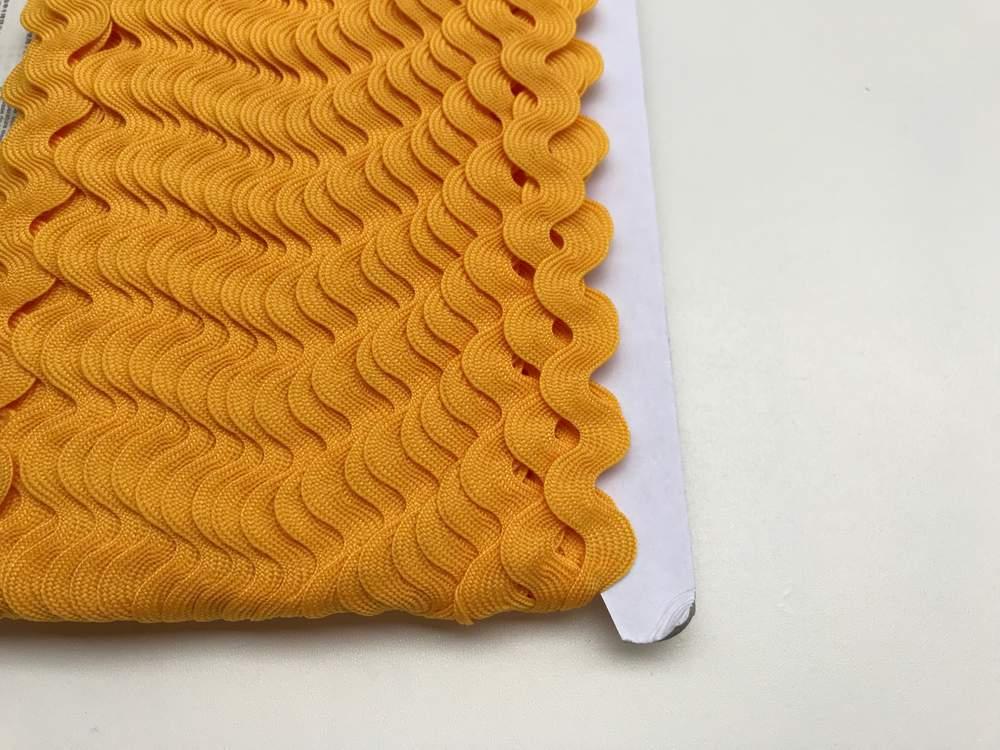 Zackenlitze gelb 17 mm