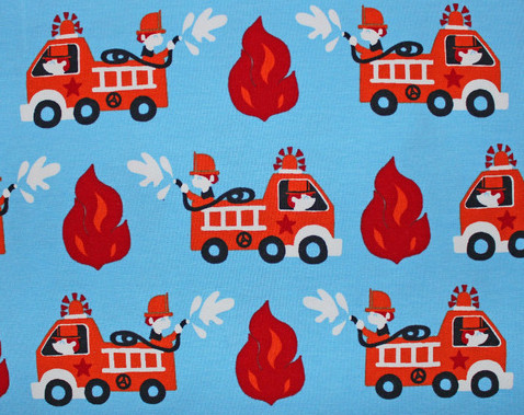 Jersey Feuerwehr hellblau 2