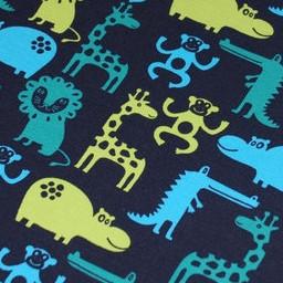 Jersey Tiere nachtblau 2