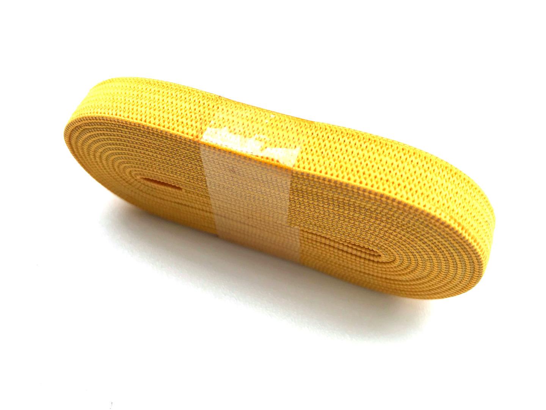 2m Gummiband gelb - 1 cm