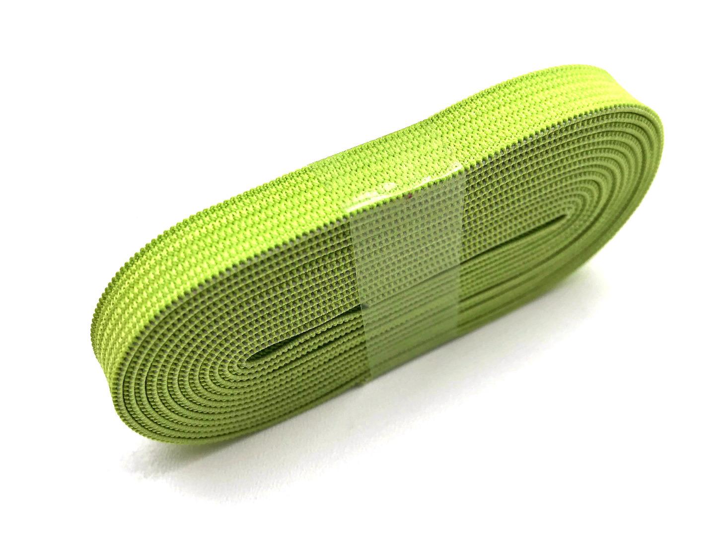 2m Gummiband hellgrün - 1 cm