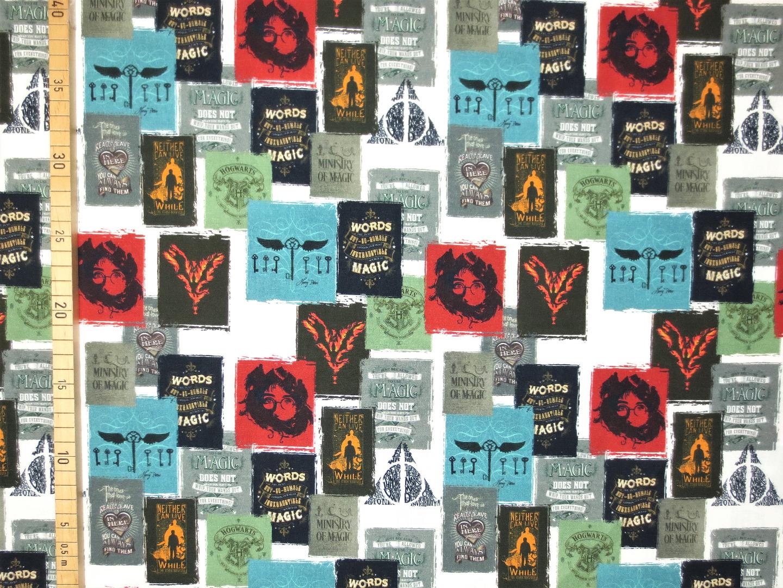 Harry Potter Stoff 100 Baumwolle Lizenzstoff