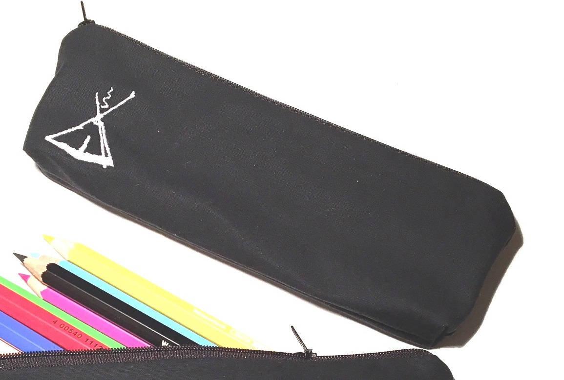 Pfadfinder Stiftetasche mit Kothe Stickerei 3