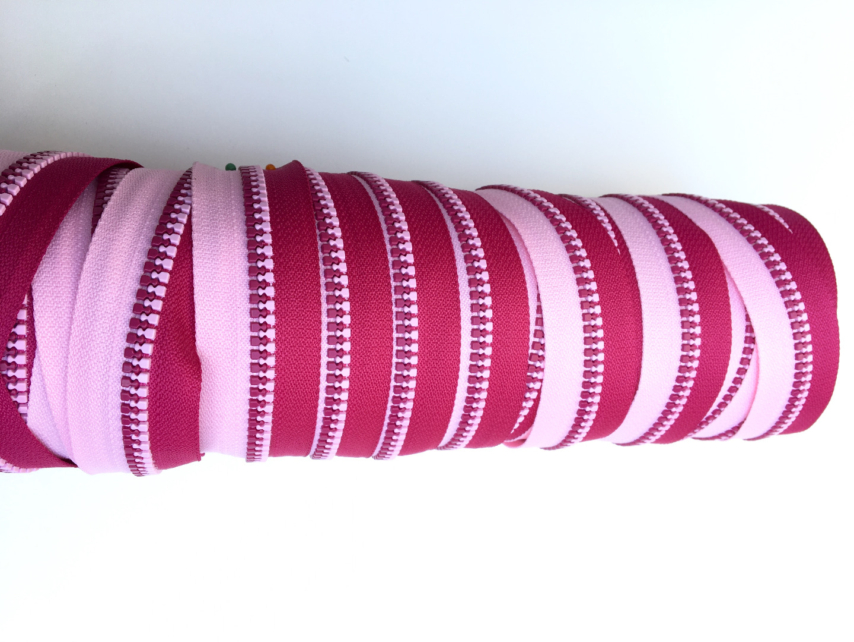 EP rosa/pink Endlos-Reißverschluss 20 cm