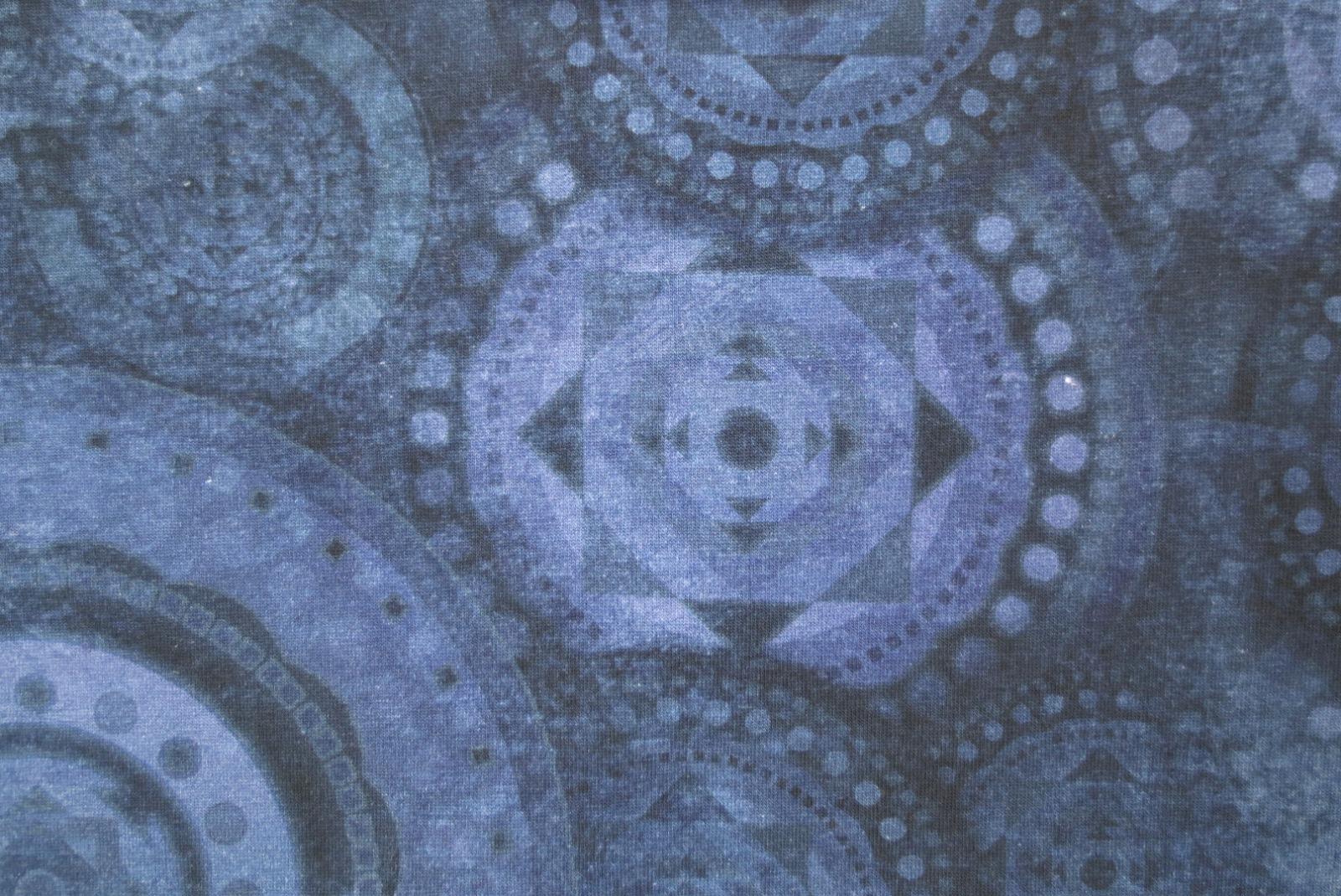 Jersey Mandala - Blau- Batikoptik 2