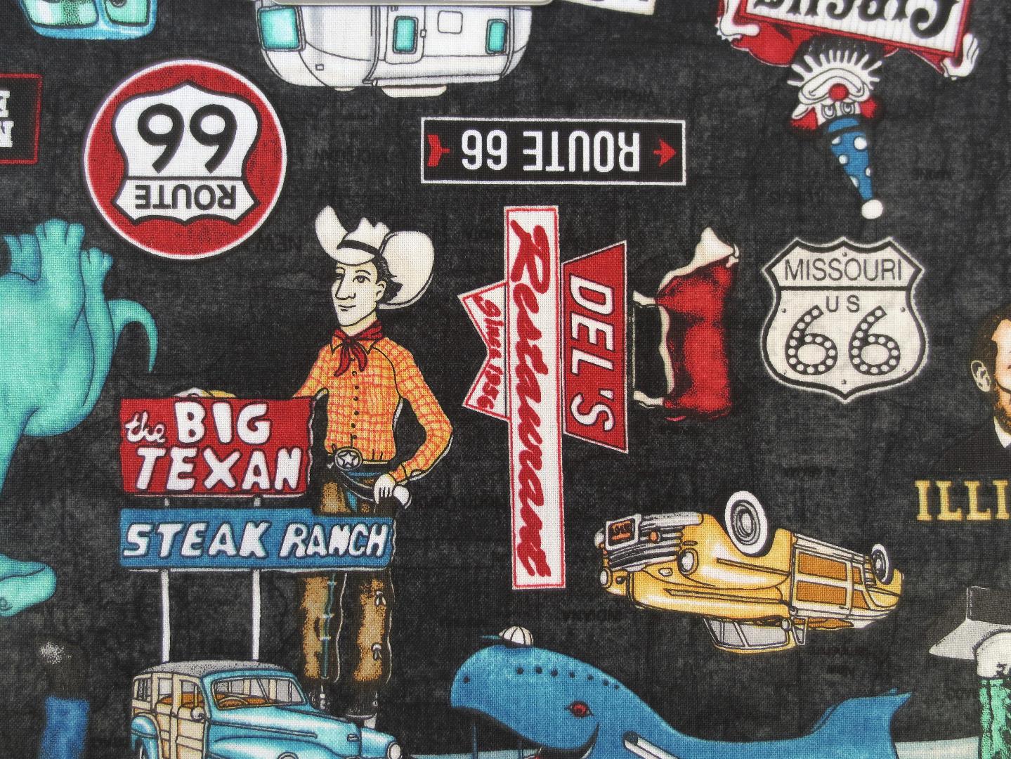 Amerika - Route 66 - Baumwolle
