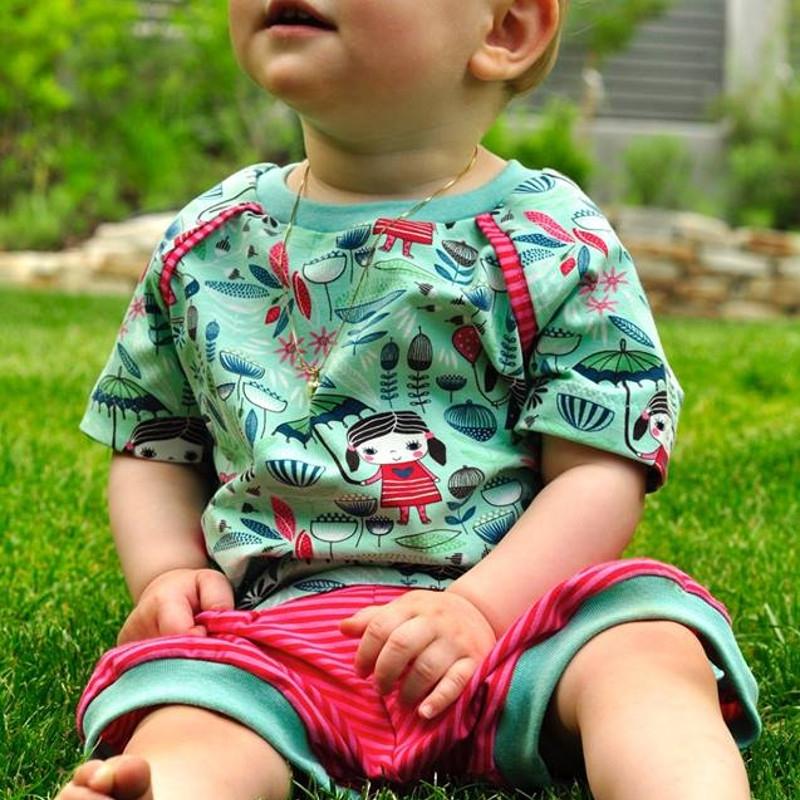 Jersey Mädchentraum - lindgrün - Blaubeerstern