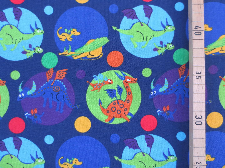 Jersey Dinosaurier - Dino- dunkelblau -