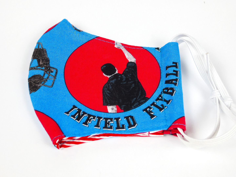 Alltagsmaske Umpire 100 Baumwolle mit Gummis
