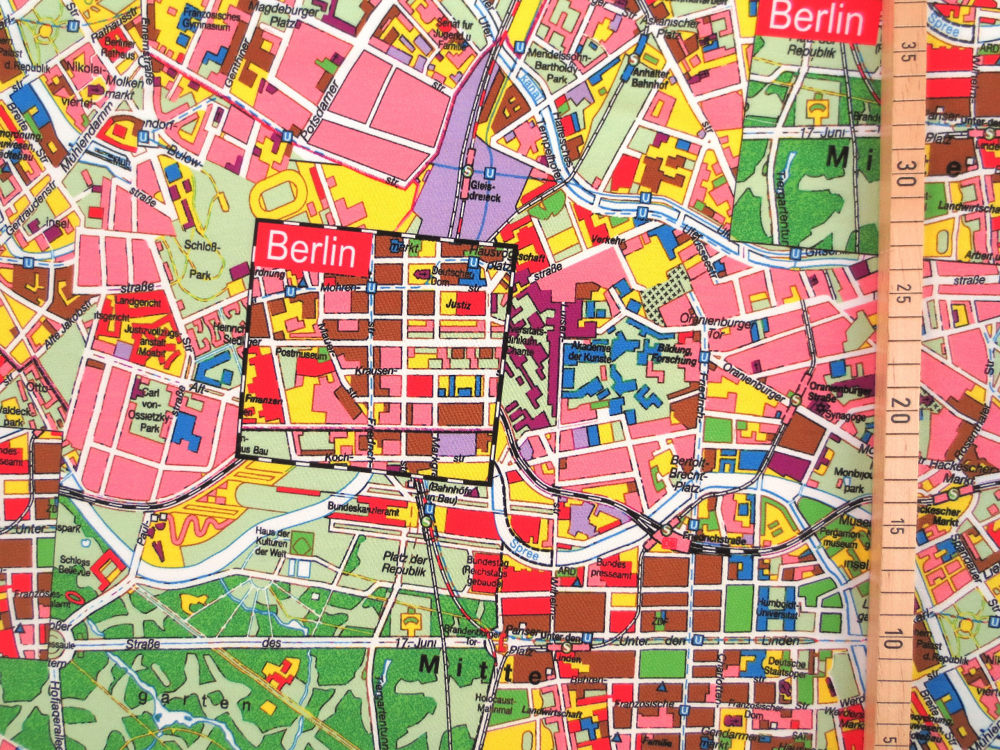 French Terry Berlin - Berlin Stadtplan